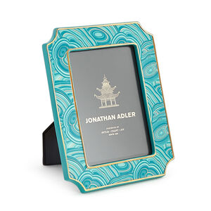 Picture Frames - Teal Malachite Frame 4 X 6
