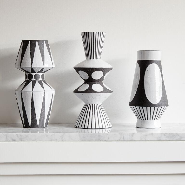 Vases - Palm Springs Diamonds Vase