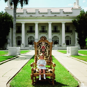 "Slim Aarons - Slim Aarons ""Family Chair"" Photograph"