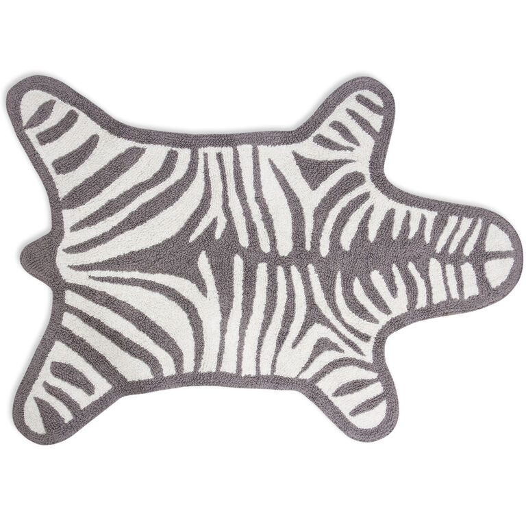 Bath Mats - Reversible Zebra Bathmat