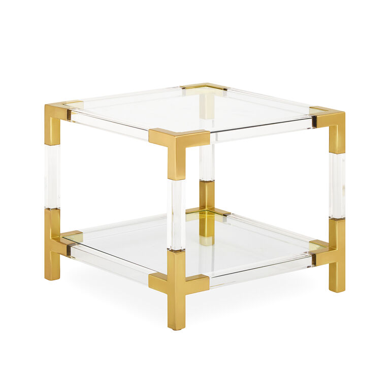 Holding Category for Inventory - Jacques Two-Tier Accent Table