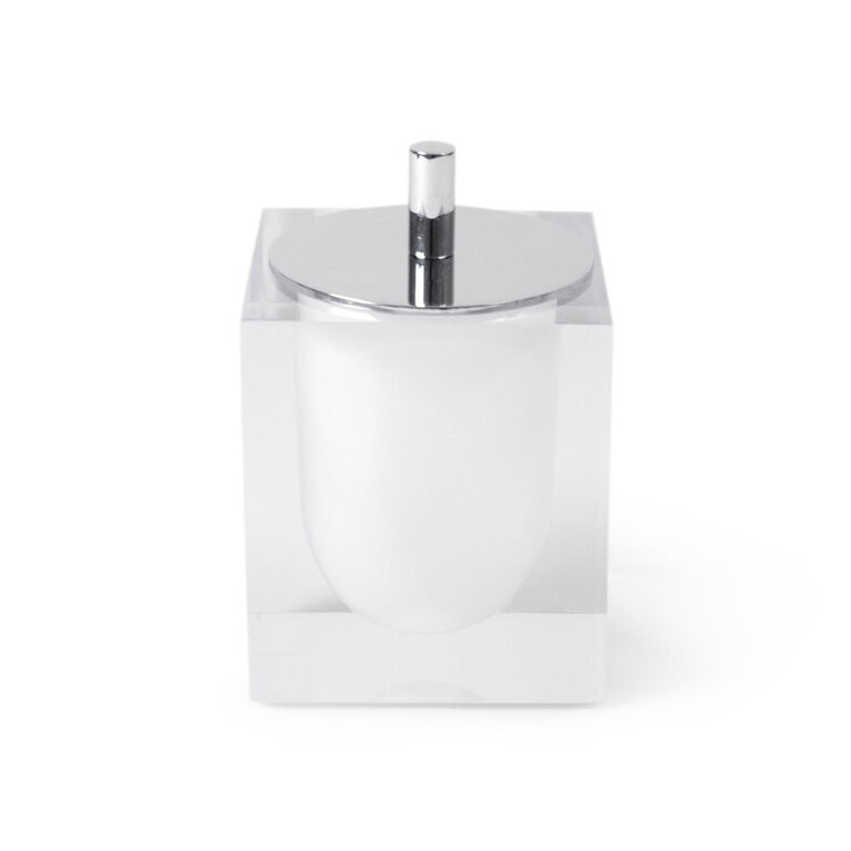 Bath Accessories - White Hollywood Canister