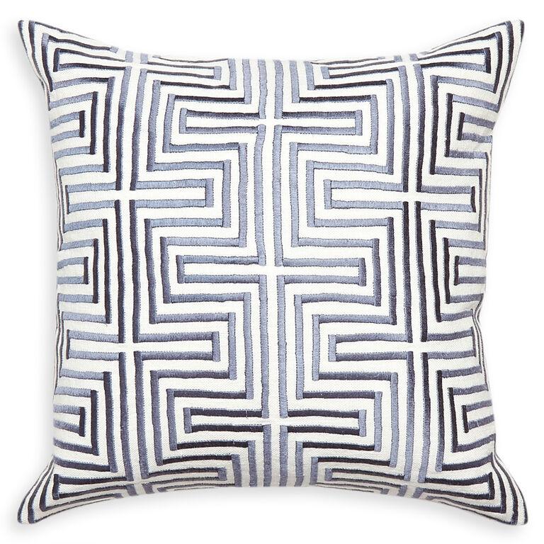 Patterned - Stella Maze Throw Pillow