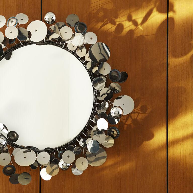 C. Jeré Sculptures - C. Jeré Raindrops Wall Sculpture Mirror