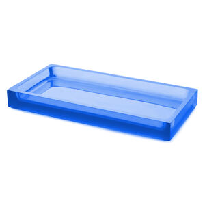 Bath Accessories - Blue Hollywood Tray