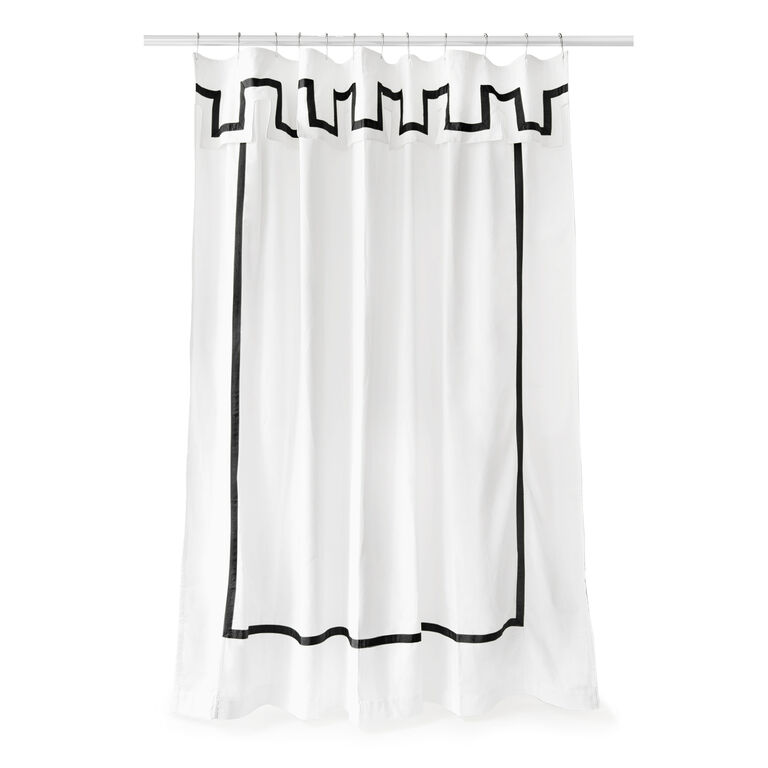 Shower Curtains - Santorini Shower Curtain