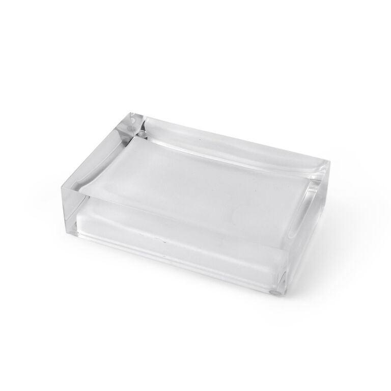 Bath Accessories - White Hollywood Soap Dish
