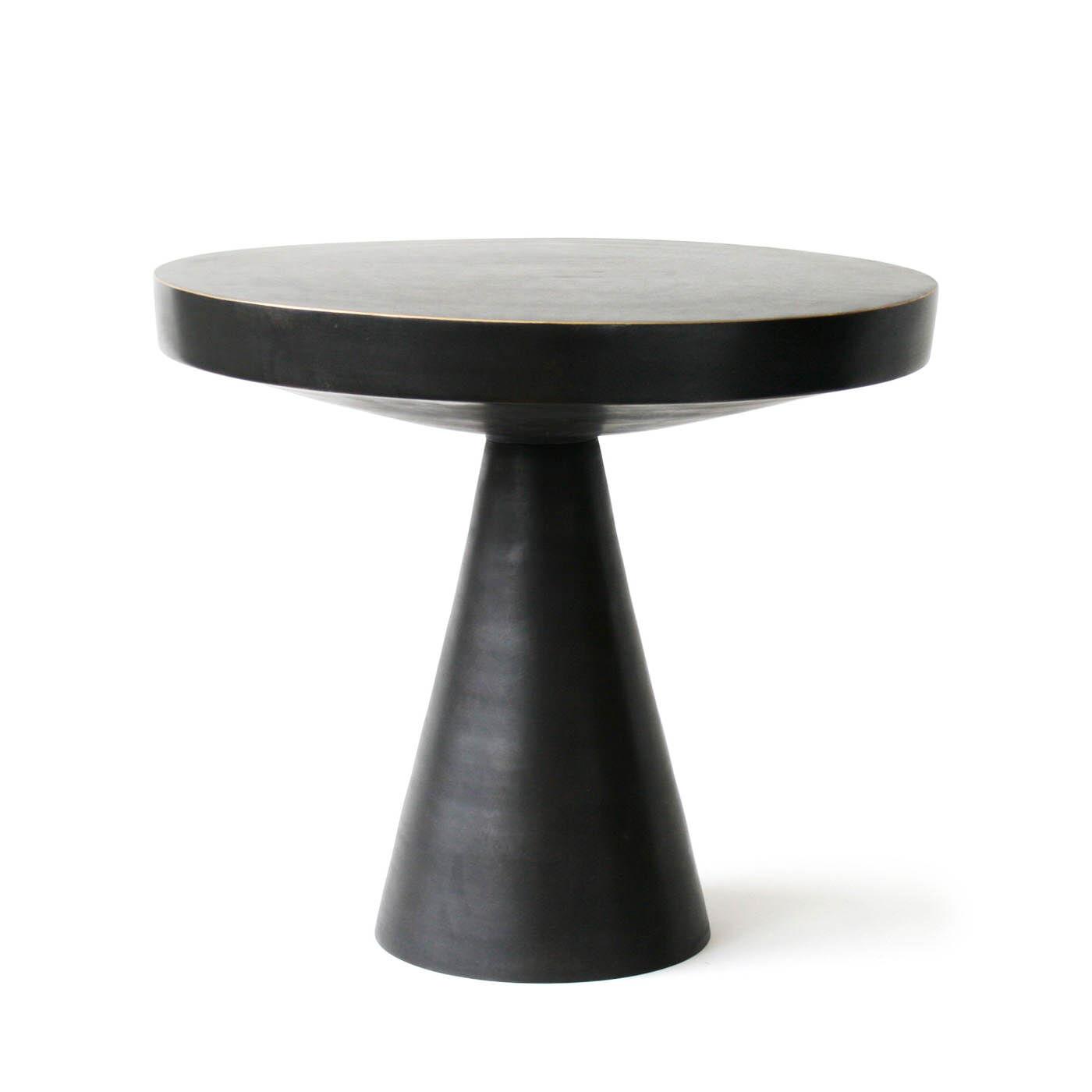 Side U0026amp; Accent Tables   Hans Pedestal Side Table