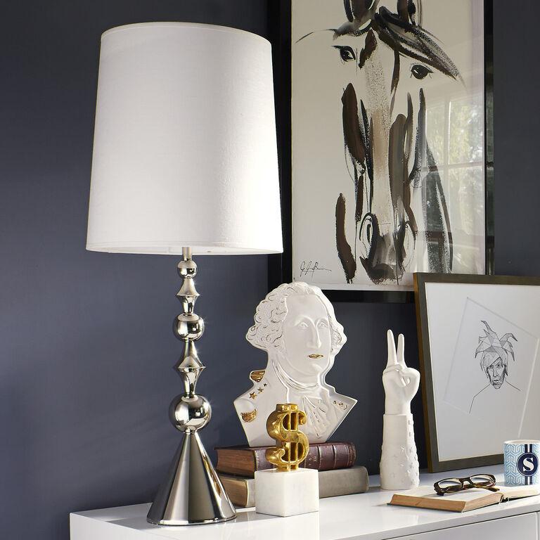 Harlequin Brass Table Lamp Modern Table Lamps Jonathan