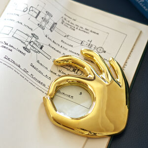 Brass Objets - Brass OK Magnifying Glass