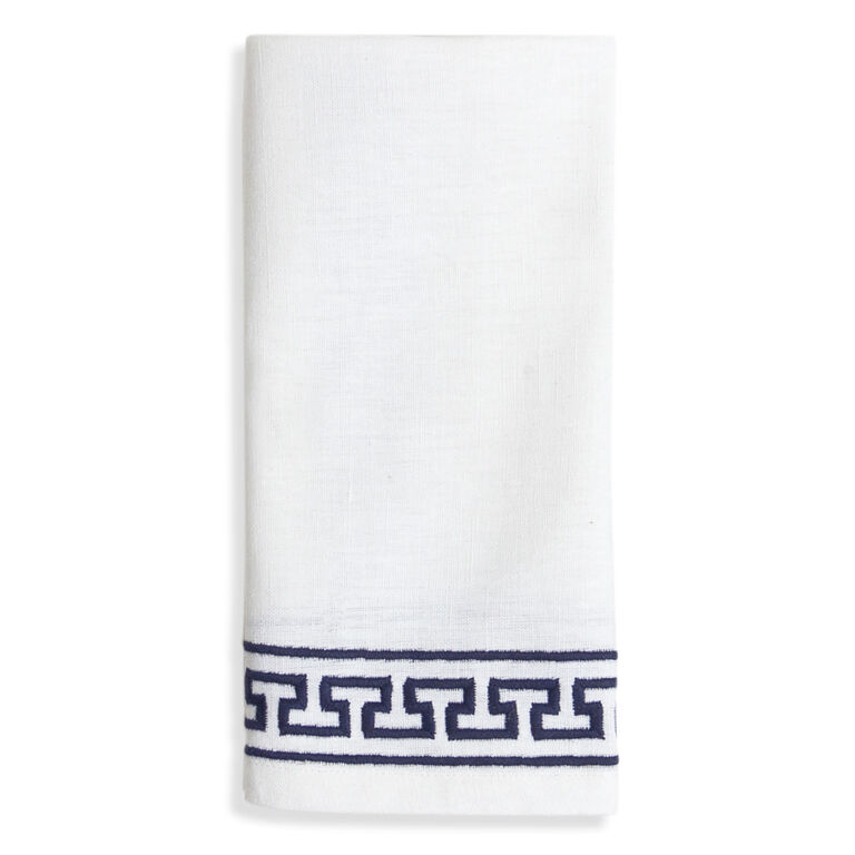 Table Linens - Mykonos Satin Stitch Napkin