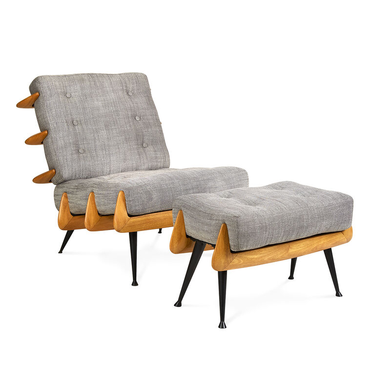 Holding Category for Inventory - St. Germain Ottoman
