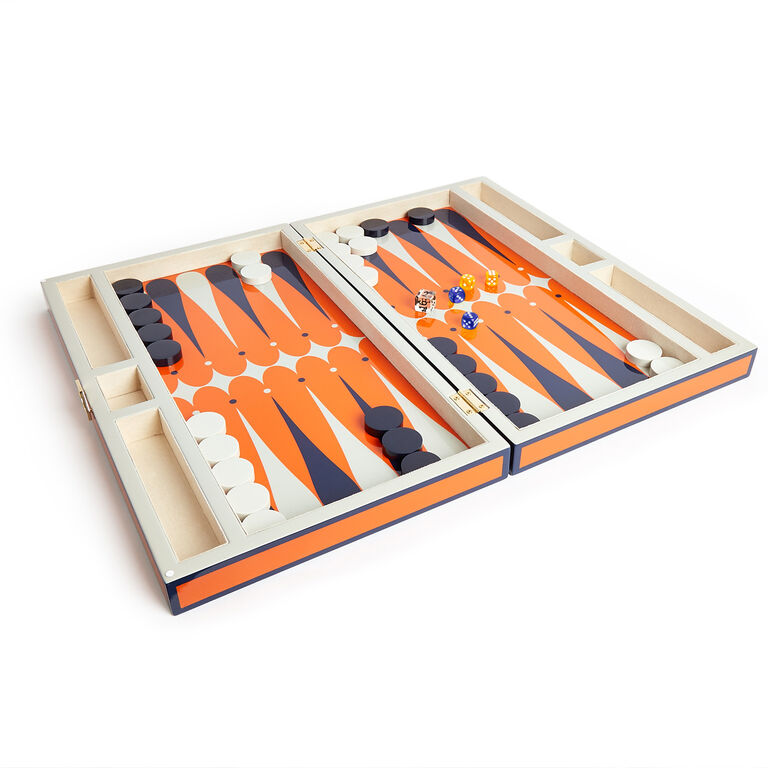 Games - Lacquer Backgammon Set