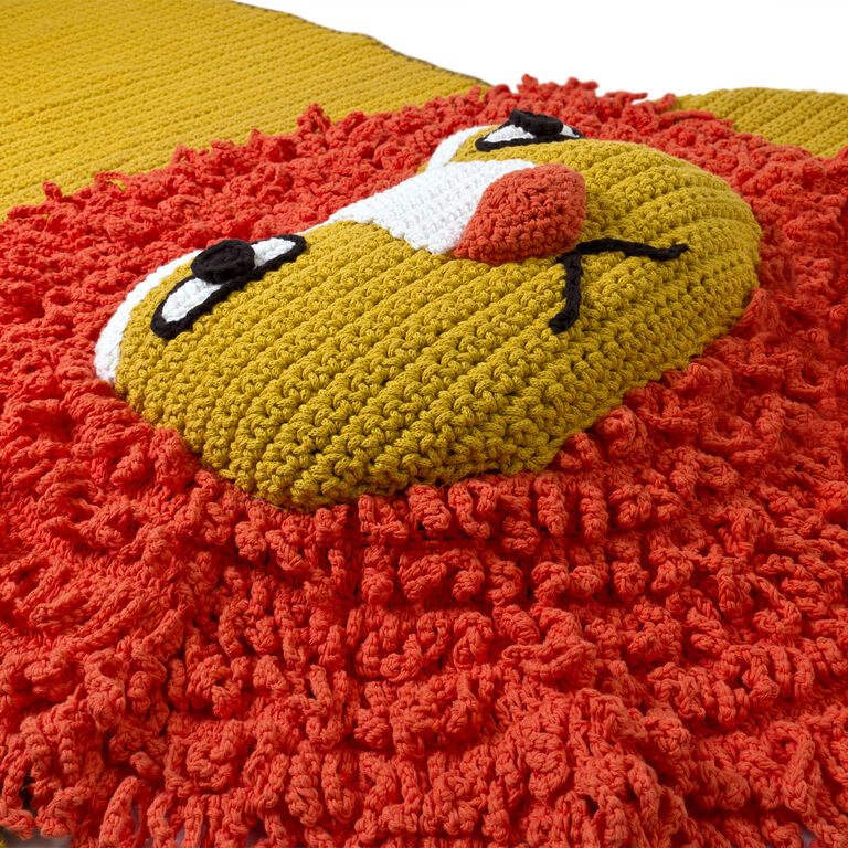 Holding Category for Inventory - Junior Crocheted Lion Rug