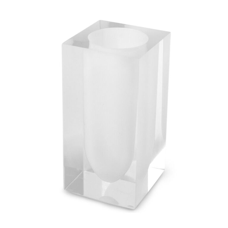 Bath Accessories - White Hollywood Toothbrush Holder