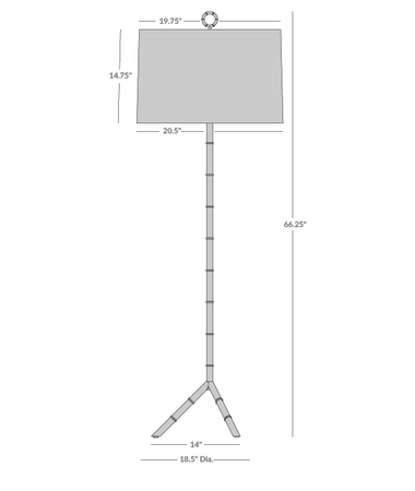Meurice Floor Lamp Isometric 1