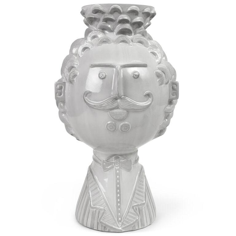 utopia reversible man woman vase pottery jonathan adler. Black Bedroom Furniture Sets. Home Design Ideas