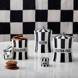 Cookie Jars & Canisters - Gluten Canister