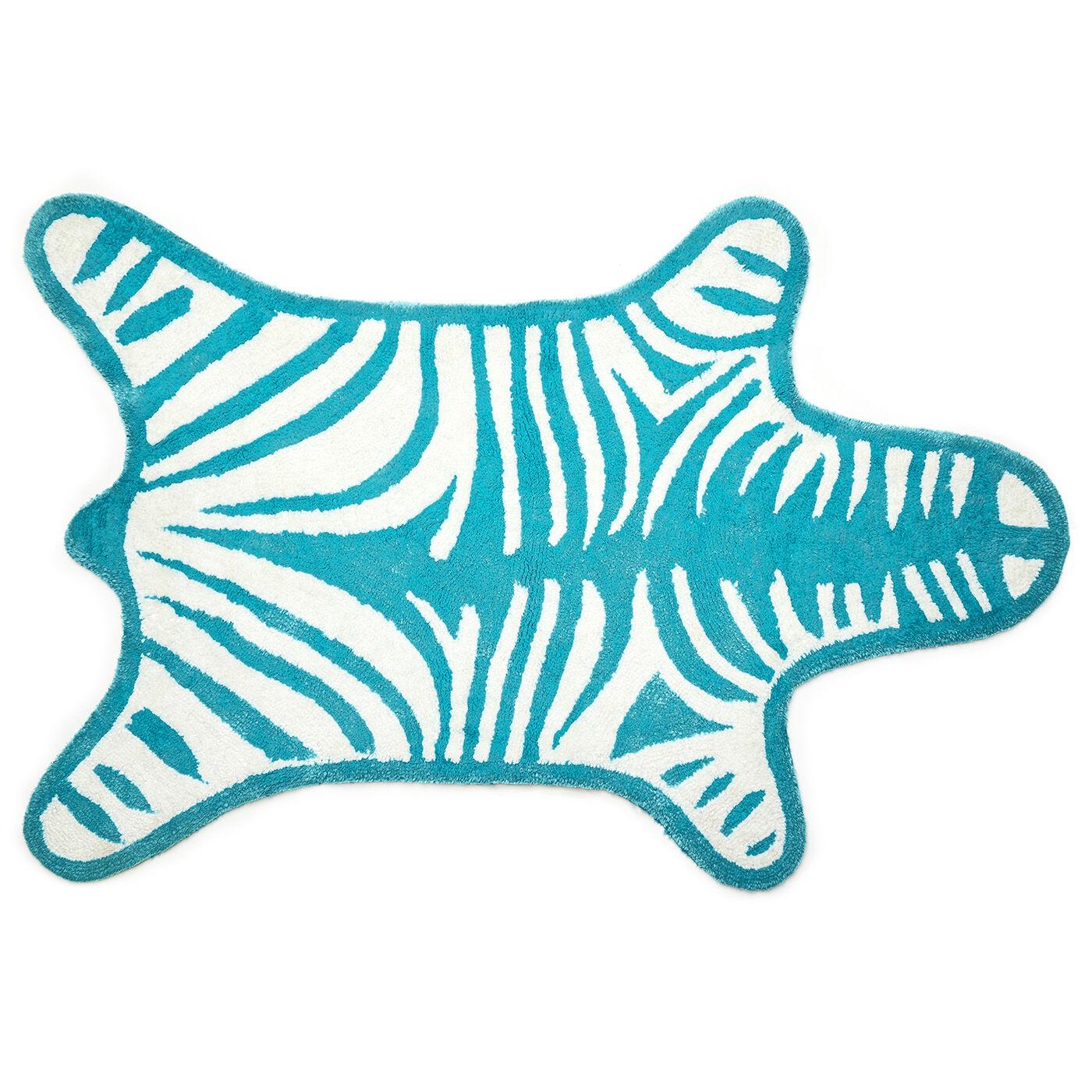 Bath Mats   Reversible Zebra Bathmat Bath Mats   Reversible Zebra Bathmat