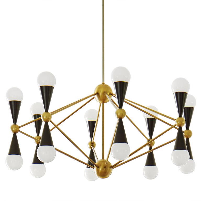 Caracas 16 light chandelier modern chandeliers for Best modern lighting websites