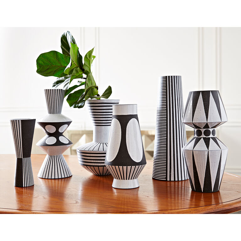 palm springs urn vase pottery jonathan adler. Black Bedroom Furniture Sets. Home Design Ideas