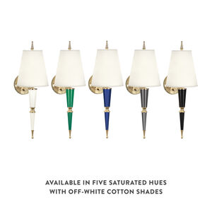 Wall Lamps & Sconces - Versailles Sconce with Fabric Shade