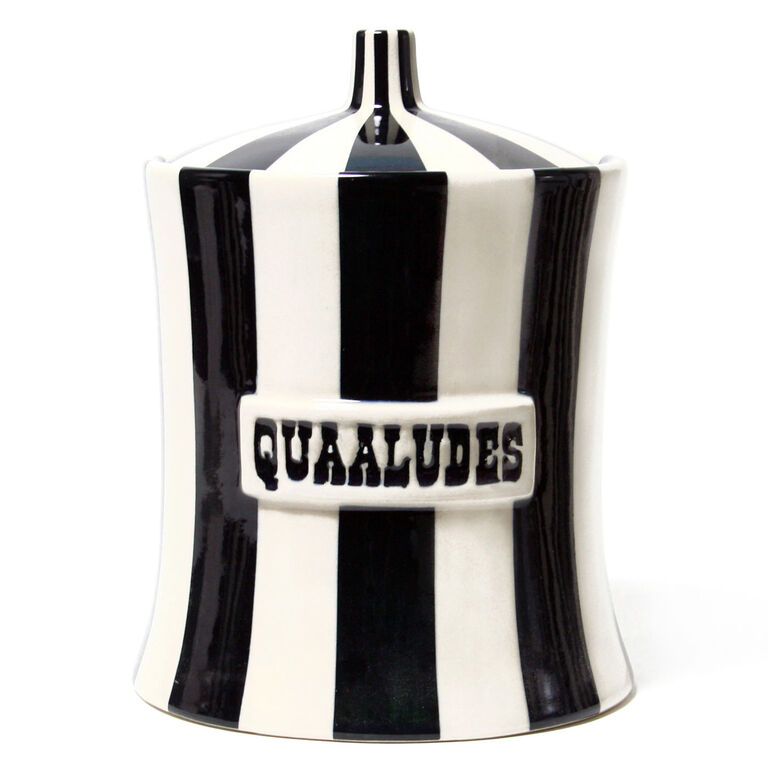 Cookie Jars & Canisters - Quaaludes Canister