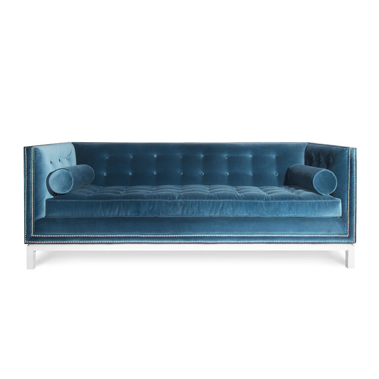Jonathan Adler | Lampert Sofa with Nickel Nailhead Trim