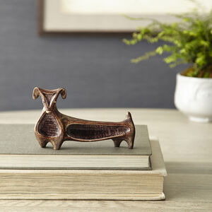 Decorative Objects - Glass Menagerie Dachshund