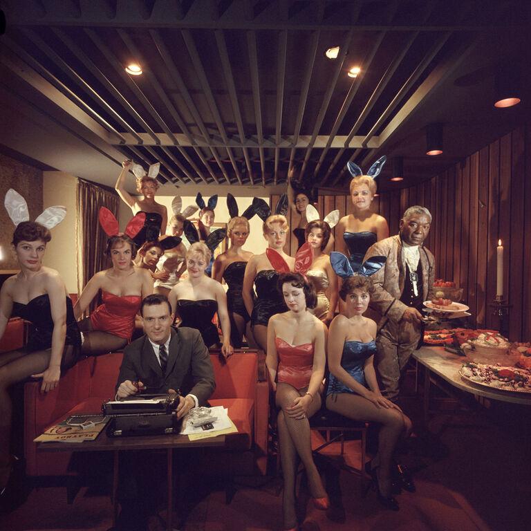 "Slim Aarons - Slim Aarons ""Man's Work"" Photograph"