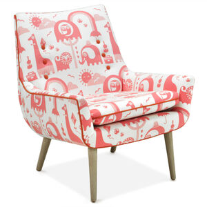 Furniture - Mrs. Godfrey Chair in  Jungle Peony