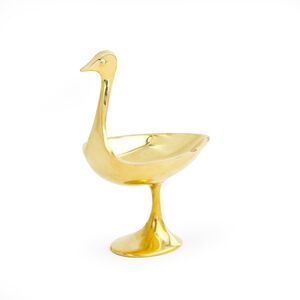 Brass Objets - Small Brass Bird Bowl