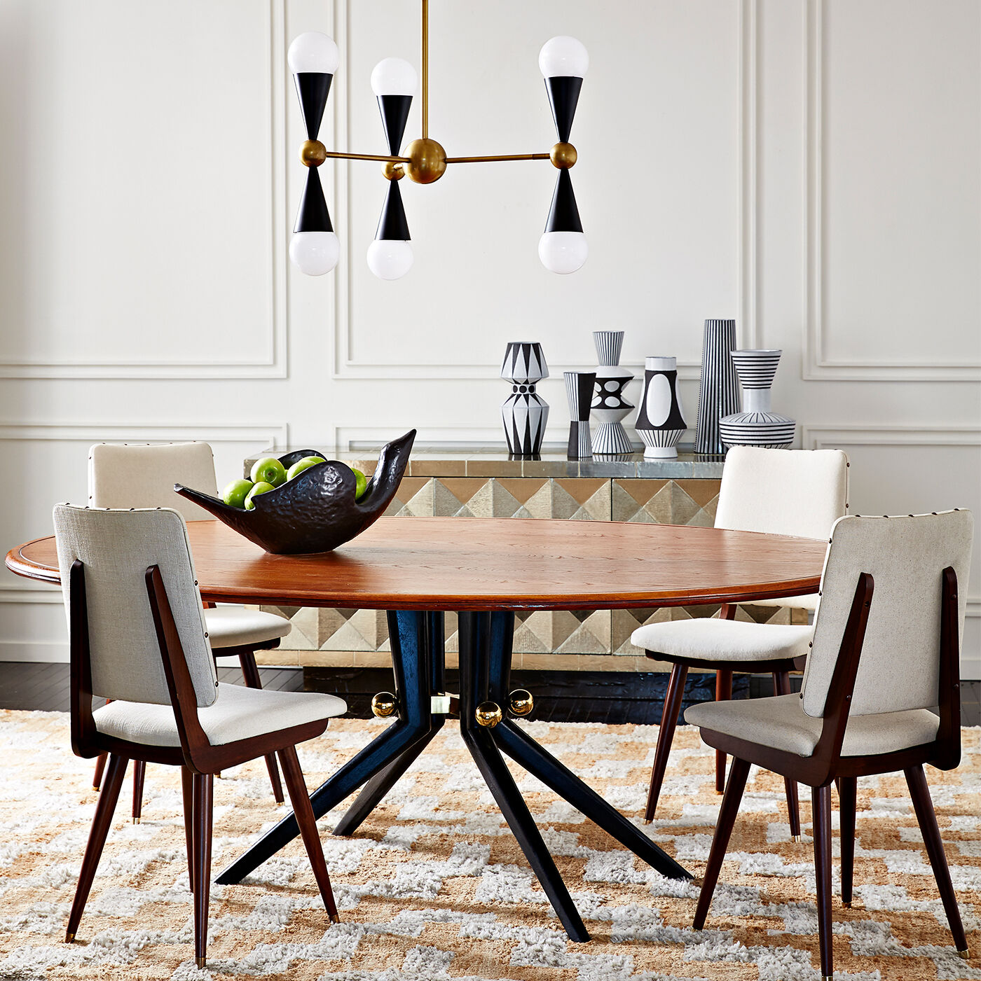 Dining Tables   Trocadero Wood Dining Table ...