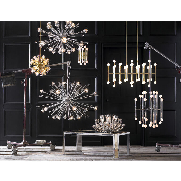 Chandeliers - Giant Sputnik Chandelier
