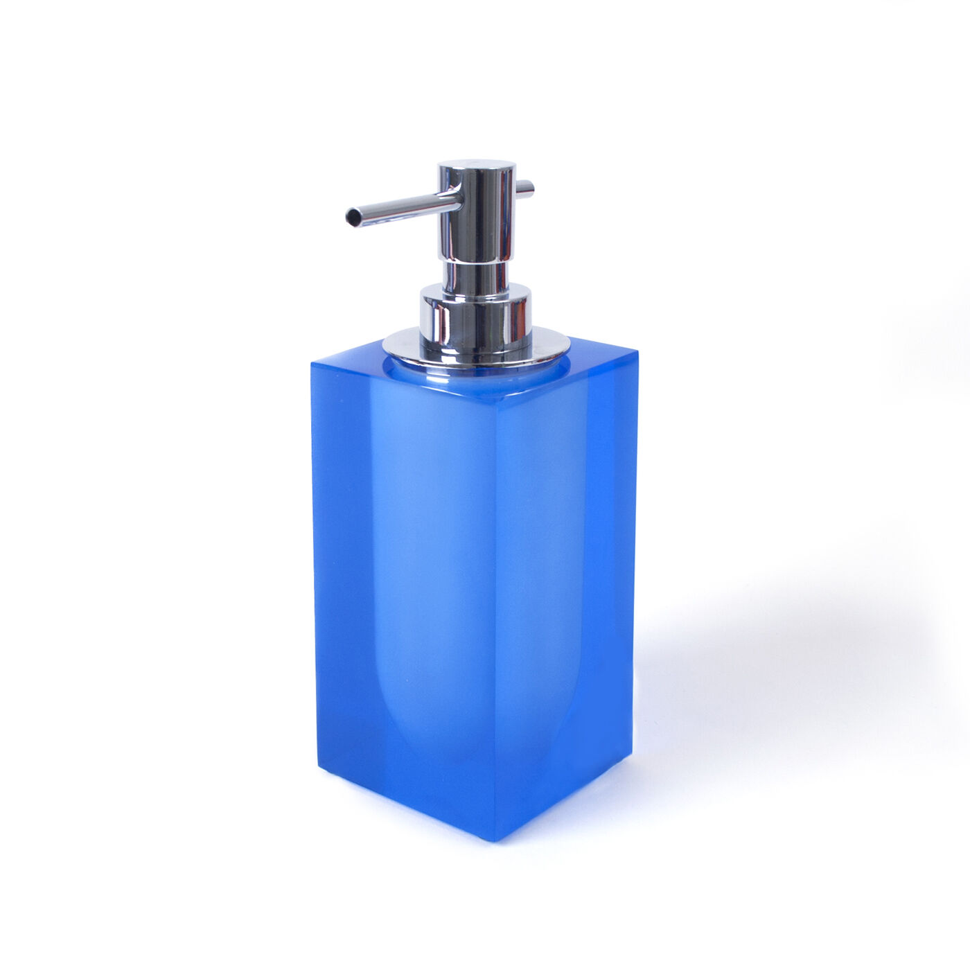 Bath Accessories   Blue Hollywood Soap Dispenser