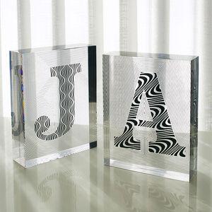 Decorative Objets - Acrylic Block Letter