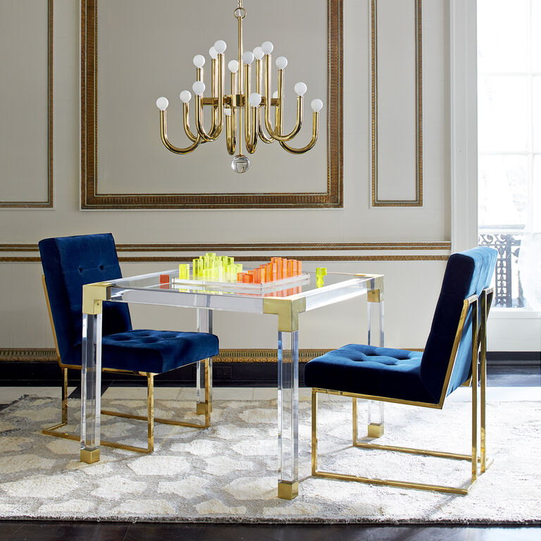 Jacques Acrylic Game Table