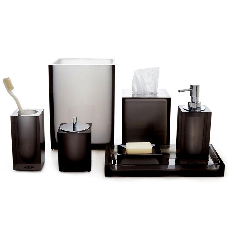Bath Accessories - Smoke Hollywood Wastebasket