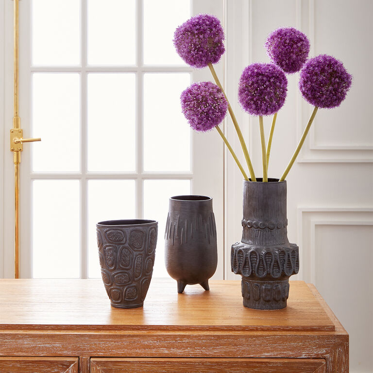 Vases - Brutalist Cuff Vase