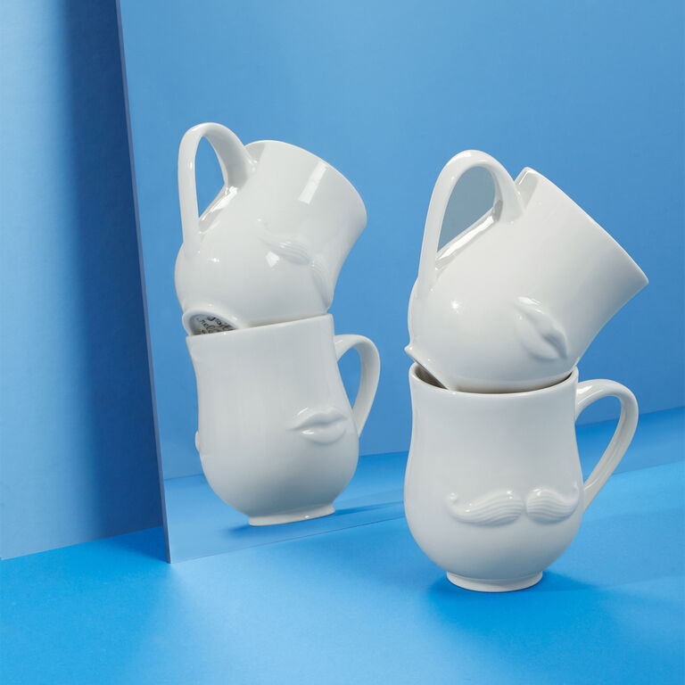 Serveware & Mugs - Mr. & Mrs. Muse Reversible Mug