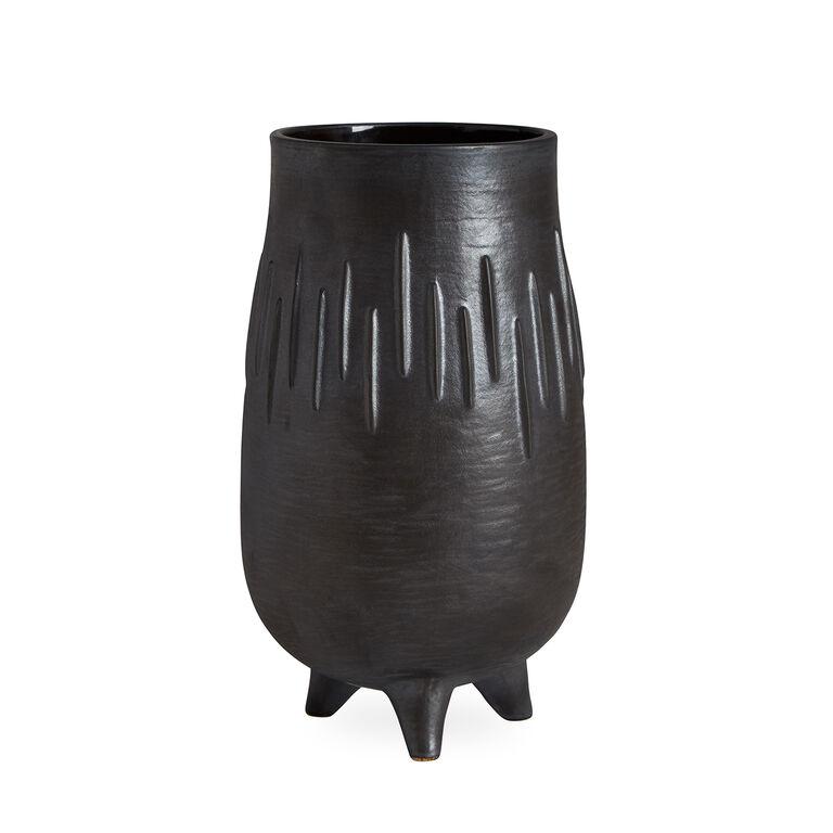 Vases - Brutalist Footed Vase