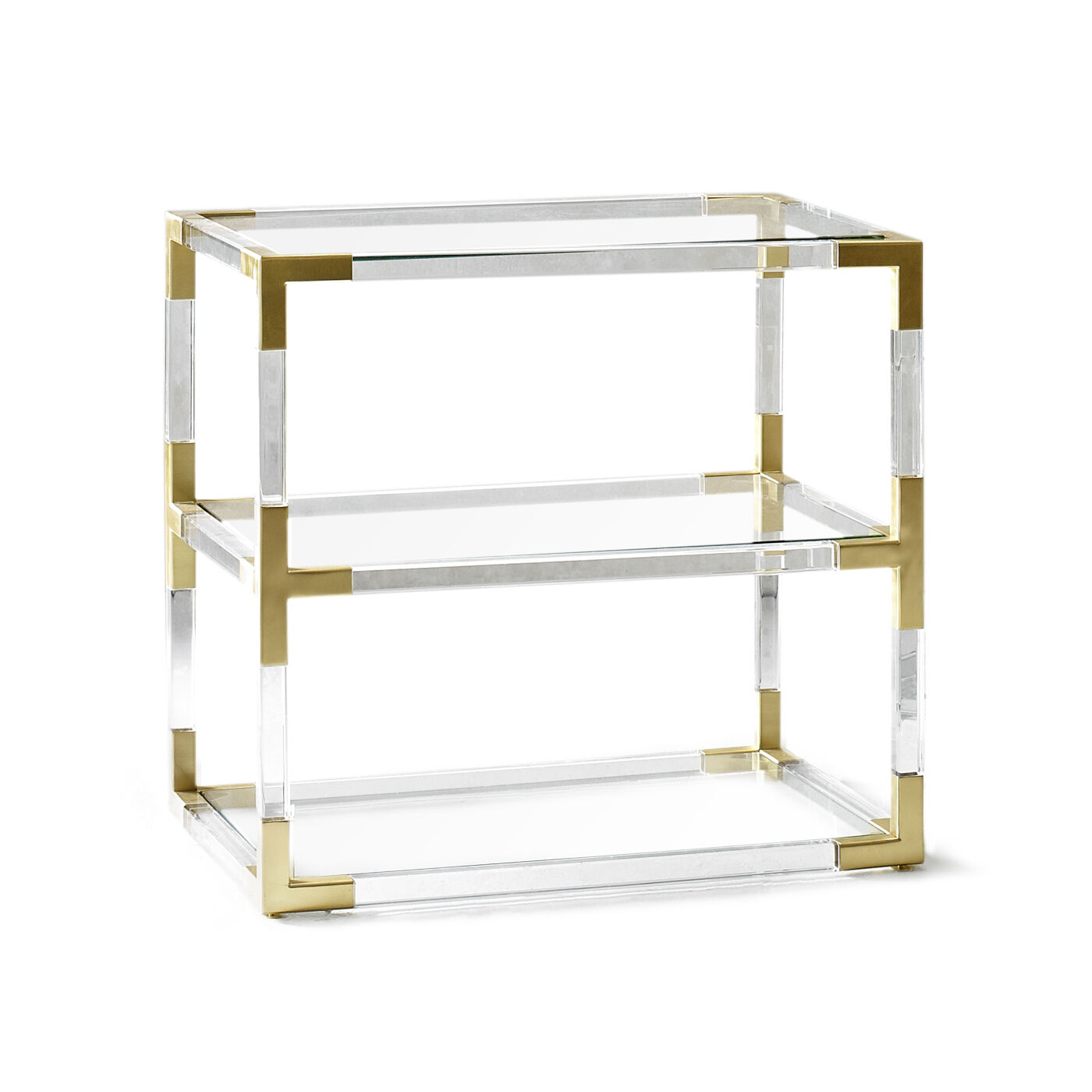 Side U0026amp; Accent Tables   Jacques Two Tier Side Table