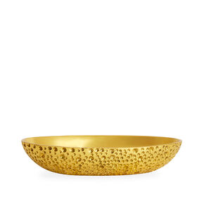 Bowls - Small Brutalist Brass Bowl