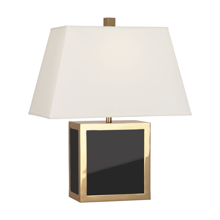 Barcelona black accent lamp modern table lamps jonathan adler table lamps barcelona accent lamp mozeypictures Choice Image