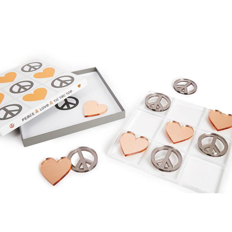 Games - Metallic Tic-Tac-Toe Set