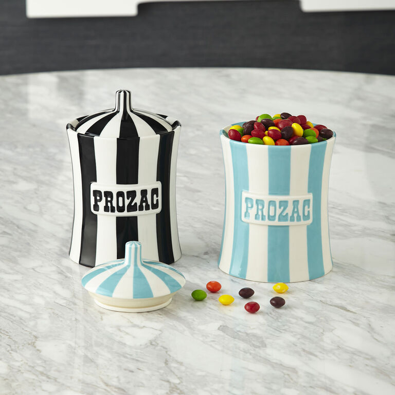 Cookie Jars & Canisters - Prozac Canister