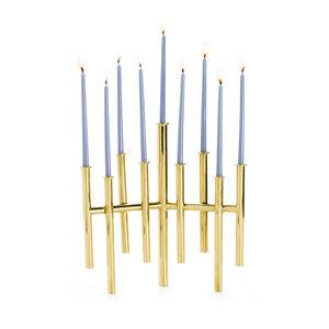 Candle Holders - Skyline Menorah