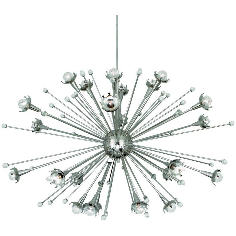 Chandeliers - Giant Sputnik Chandelier