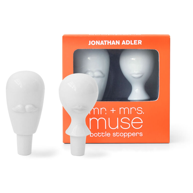 Bottle Openers & Stoppers - Mr. & Mrs. Muse Bottle Stopper Set
