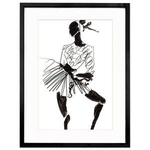 """Print - Tony Viramontes """"Naomi Campbell"""""""